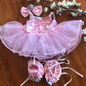 Build a Bear Ballet Costume with Slippers